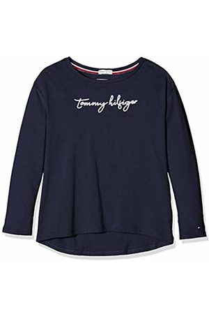 Tommy Hilfiger Girl's Sequins Graphic Tee L/s Long Sleeve Top