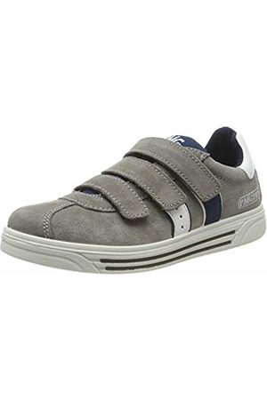 Primigi Boys' Pua 43753 Low-Top Sneakers, (Grigio/Bianco 4375333)