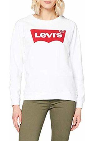Levi's Women's Relaxed Graphic Crew Sweatshirt, (Better Batwing 0014)