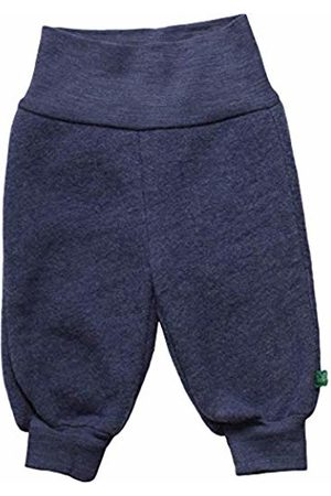 Green Cotton Baby Wool Fleece Pants Trouser