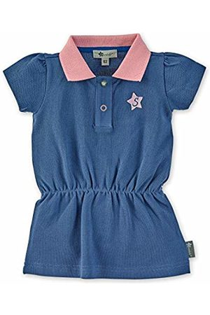 Sterntaler Girls Pleated Polo Dress, Age: 5-6 Months, Size: 6-9m