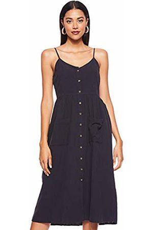 Vero Moda Women's Vmwanda Strap Button Midi Dress
