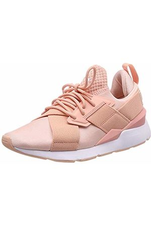 Puma Women's Muse Satin Ep WN's Low-Top Sneakers, (Peach Bud)