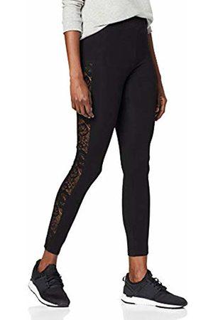 Urban classics Women's Leggings Ladies Lace Striped Yoga-Hose