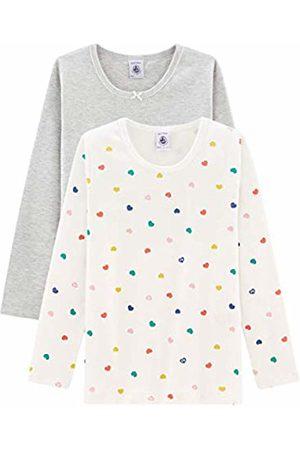 Petit Bateau Girl's Tee Shirt Ml_5005200 Vest