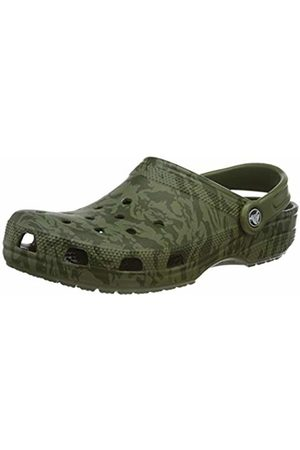 Crocs Unisex Adult's Classic Printed Camo Clog, (Army 309)