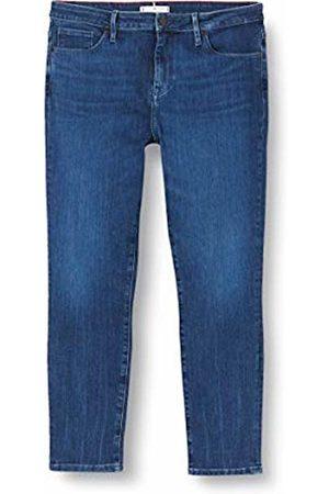Tommy Hilfiger Women's Como Skinny RW ALYA Straight Jeans