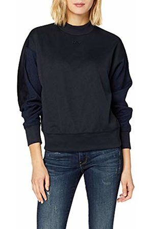 G-Star Women's Pleat Loose Collar Sweatshirt