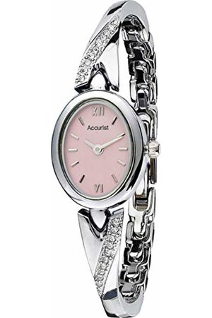 Accurist Watches Women's Analogue Japanese Quartz Watch with Stainless Steel Strap LB1648P