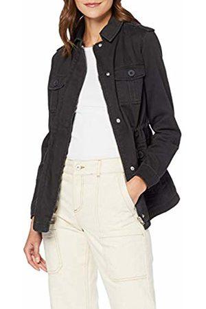 New Look Women's 4 Pocket Utility Shacket Long Sleeve Top
