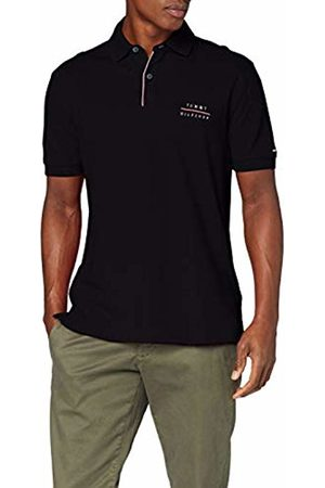 Tommy Hilfiger Men Polo Shirts - Men's Logo Embroidery Regular Polo Shirt