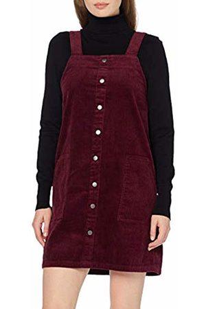 New Look Women's Cord Button Through Pinny Dress