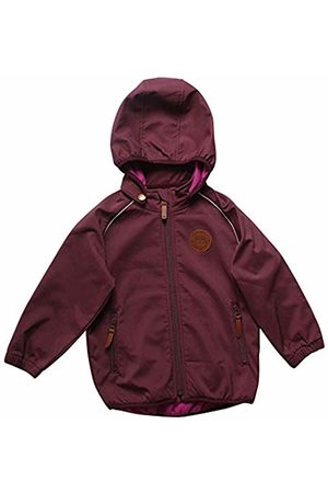 Green Cotton Girl's Softshell Jacket