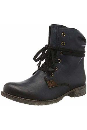 Rieker Women's 70829 Ankle Boots, (Ozean/Mogano 14)