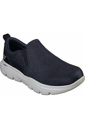 Skechers Go Walk Evolution Ultra-impec, Men's Slip On Trainers, (Navy Textile/Gray Trim Nvgy)