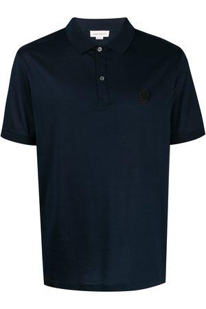 Alexander McQueen Men Polo Shirts - Beaded skull polo shirt