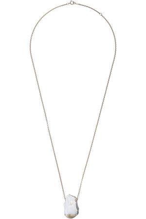 Mizuki 14kt yellow Fluid Pearl necklace