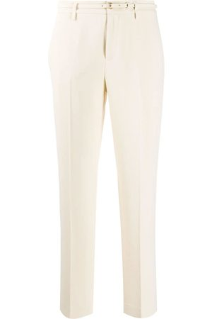 RED Valentino Belted tailored trousers - Neutrals