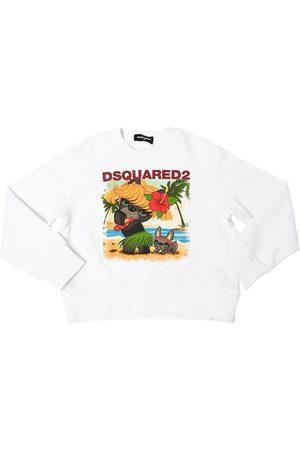 Dsquared2 Ciro Print Cotton Sweatshirt