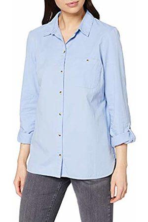 Dorothy Perkins Women's Curve Hem Poplin Twill Shirt