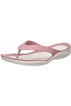 Crocs Women's Swiftwater Flip Flops, (Cassis/Pearl 5ph)