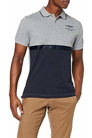 Hackett Hackett Men's Aston Martin Racing Pieced Pnls Polo Shirt