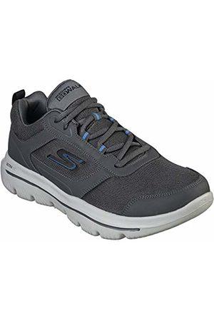Skechers Men's Go Walk Evolution Ultra-Enhan Trainers, (Charcoal Ccbl)