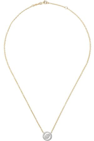 Kiki Mcdonough 18kt and Signatures helio diamond necklace