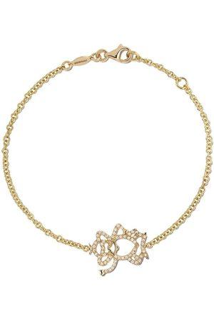 Kiki Mcdonough 18kt Memories diamond monkey bracelet