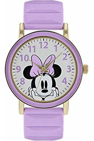 Disney Minnie Mouse Womens Analogue Classic Quartz Watch with Rubber Strap MN9011