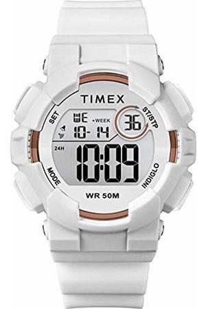 Timex Women's Mako DGTL 44 mm Silicone Strap Digital Watch TW5M31000