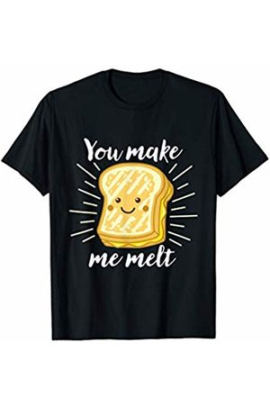 Detour Shirts Grilled Cheese You Make Me Melt T-Shirt