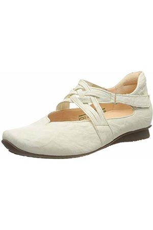 Think! Women's 686108_Chilli Ankle Strap Ballet Flats, (Ivory 95)