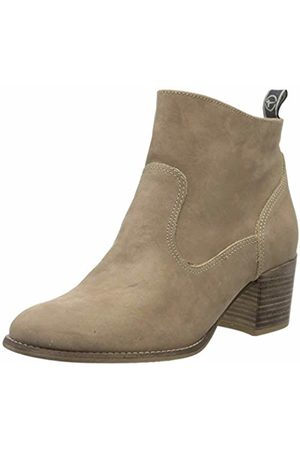 Women's 1 1 25350 24 Leder Ankle Boots, (Taupe Nubuc 343)