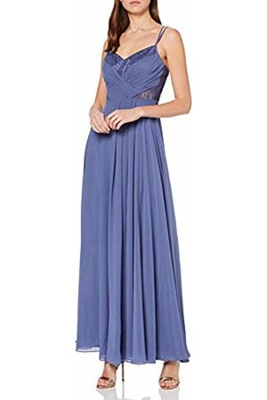 Vera Mont Women's 8028/4000 Party Dress, (Gray 8135)