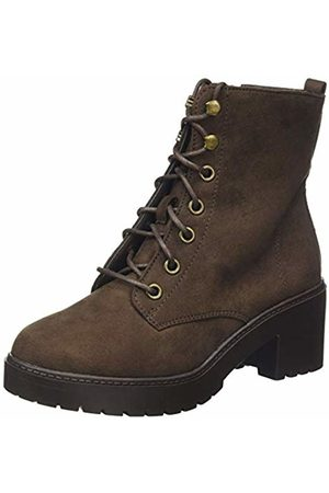 Dorothy Perkins Women's W: Adela Lace Up Cleat Ankle Boots, (Chocolate 1016)