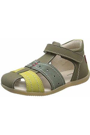 Kickers Baby Boys' Bigbazar-2 Sandals, (Vert Tricolore 63)