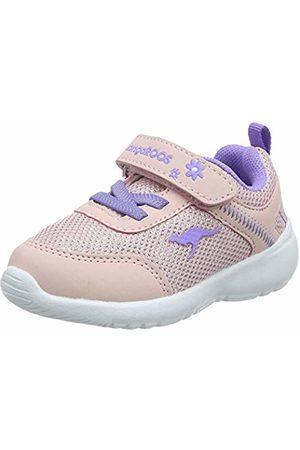 KangaROOS Unisex Babies' Kc-Flight Ev Low-Top Sneakers, (Frost /Lavender 6014)