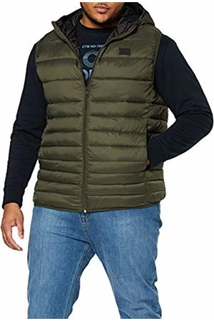 Jack & Jones Men's JJEBOMB Body Warmer Hood PS Outdoor Gilet
