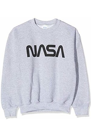Brands In Limited Boy's NASA Modern Logo Sweatshirt