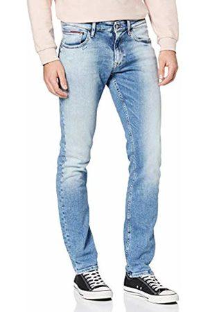 Tommy Hilfiger Men's Scanton Slim CRBNL Straight Jeans