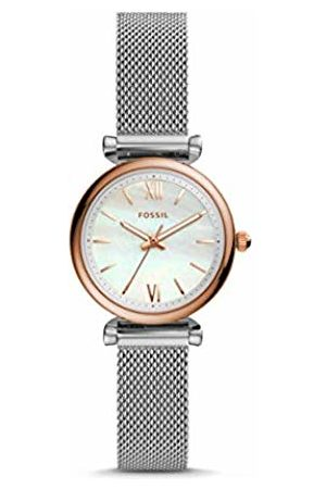 Fossil Womens Analogue Quartz Watch with Stainless Steel Strap ES4614