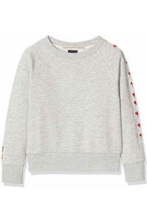 Scotch & Soda Girl's Long Sleeve Sweat with Various Artworks Sweatshirt