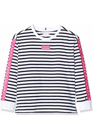 Tommy Hilfiger Girl's Nautical Stripe TEE L/S T-Shirt
