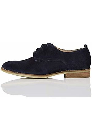 FIND Leather Brogues, (Navy)