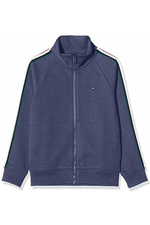 Tommy Hilfiger Boy's Stripe Interlock Zip Sweatshirt Hoodie