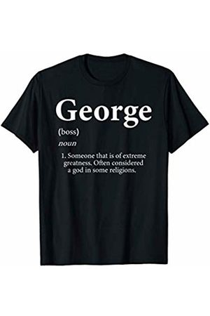 Top Gifts For George George Definition Funny Personalized Name Gift For Georges T-Shirt