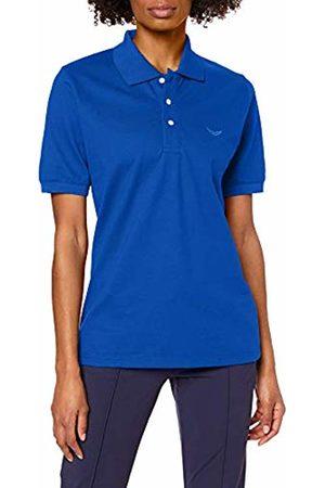 Trigema Unisex Polo Shirt Blau (royal 049) 17.5