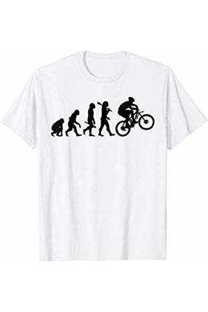 Miftees Mountain Bike evolution tee mountain Bike MTB evolution T-Shirt