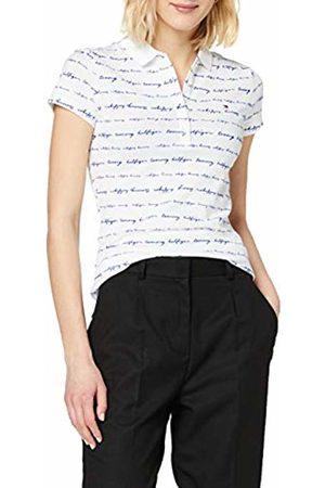 Tommy Hilfiger Women's New Chiara Print PQ Polo SS Shirt